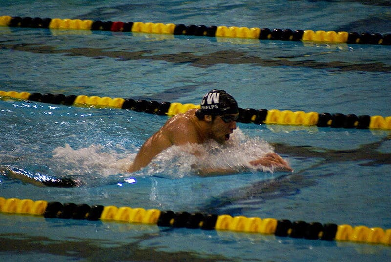 how to swim breaststroke head above water