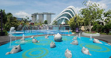Garden By The Bay Water Park the complete list of water parks & playgrounds in singapore