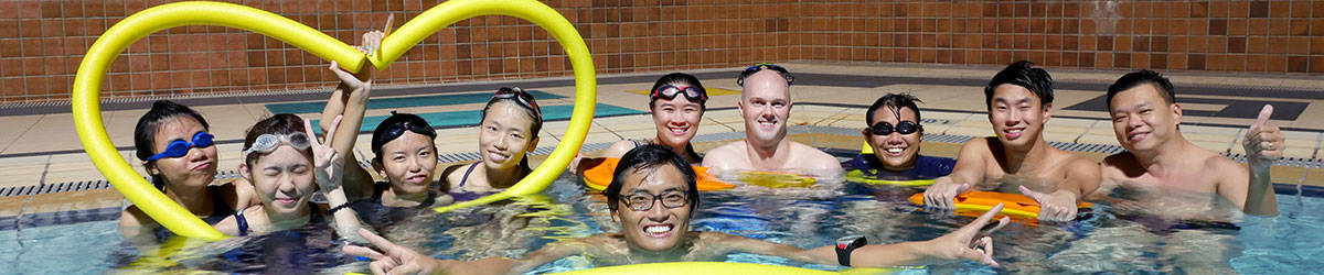 Adult swimming lessons in singapore happy fish swim school for Happy fish swim school