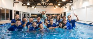 Happy Fish Swimming Instructors