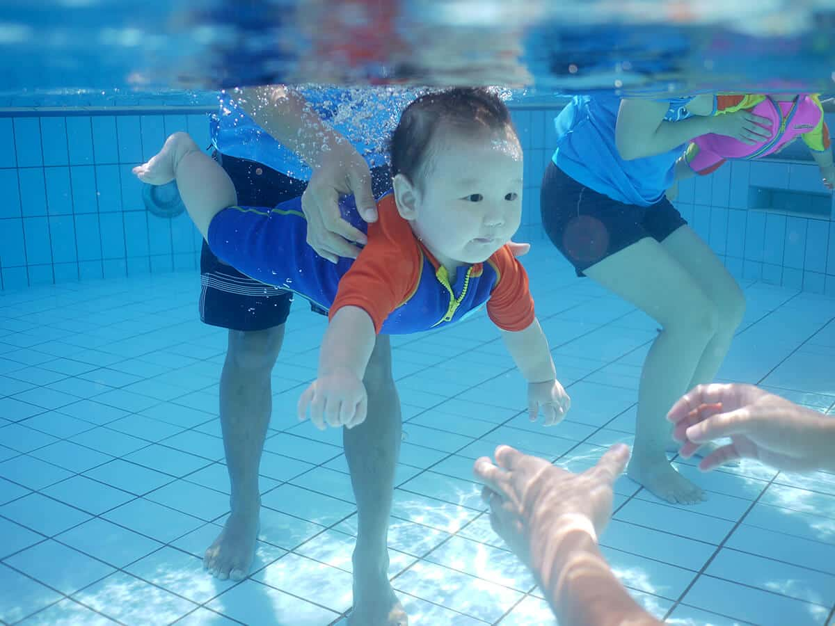 Swimming Lessons For Babies Amp Toddlers