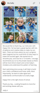 baby swimming lessons singapore