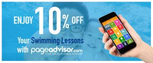 swimming lessons promotion