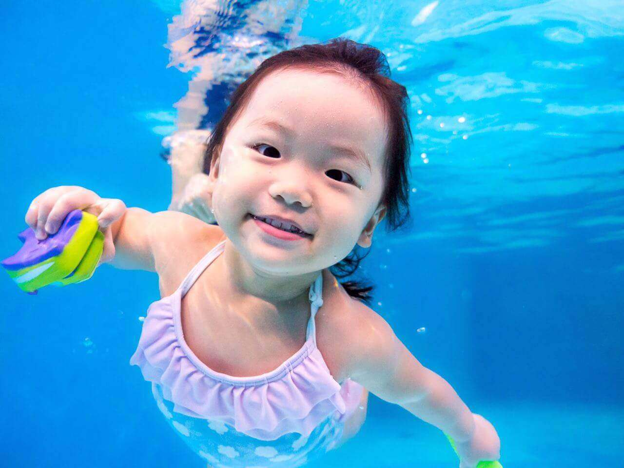 Baby Underwater Photography