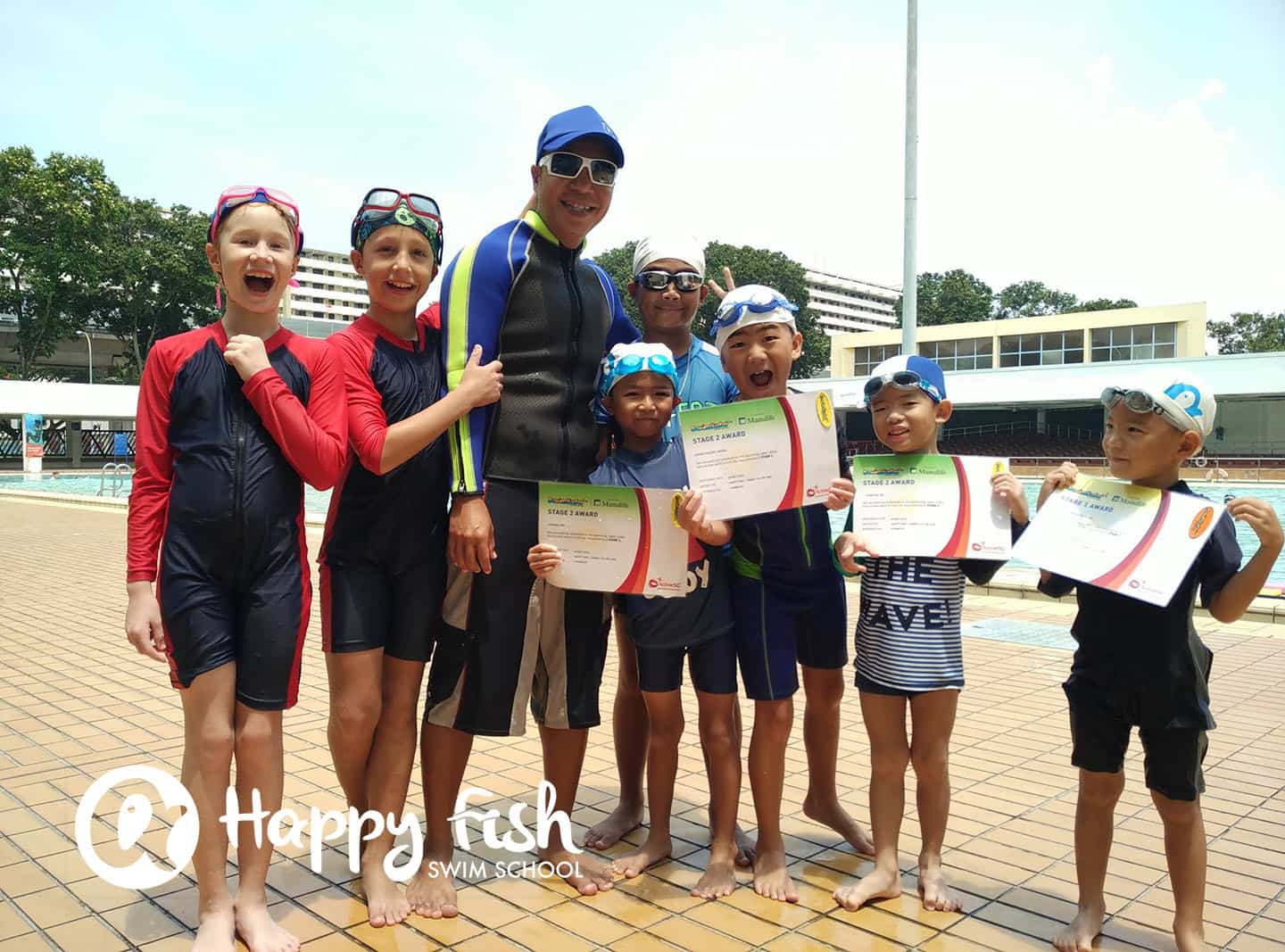 Swimming Lessons For Kids Singapore Happy Fish Swim School
